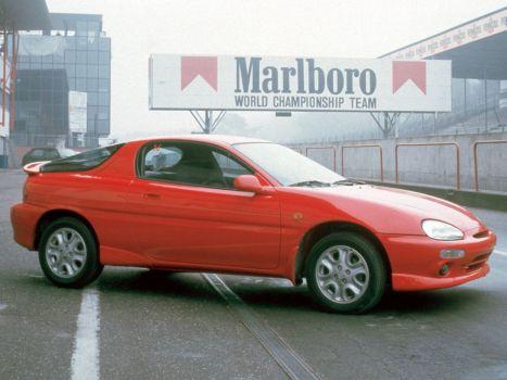 Mazda MX-3 red