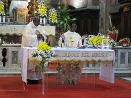 Messe au Sanctuaire de la Divine Miséricorde (Rome)