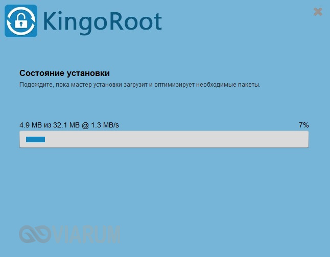 Installere Kingo Android Root - Trinn 2
