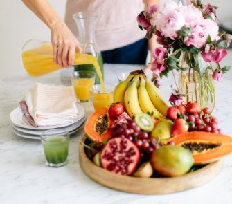 Camille Styles, Kristen Kilpatrick Photography, Nude Skincare, Healthy Skins, Healthy Spring rolls