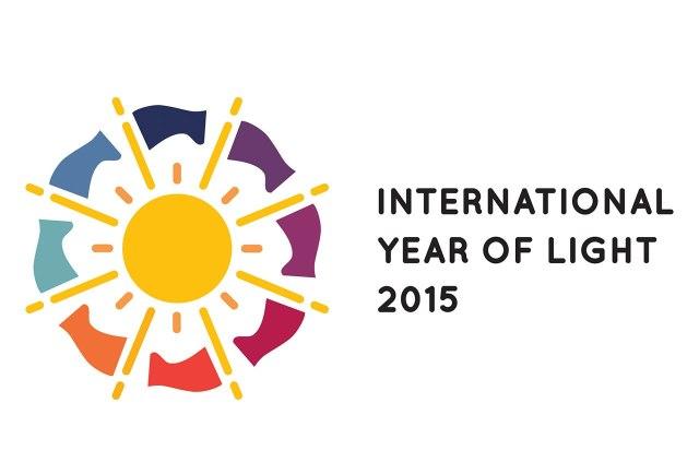 Logo of the International Year of Light 2015 (horizontal)