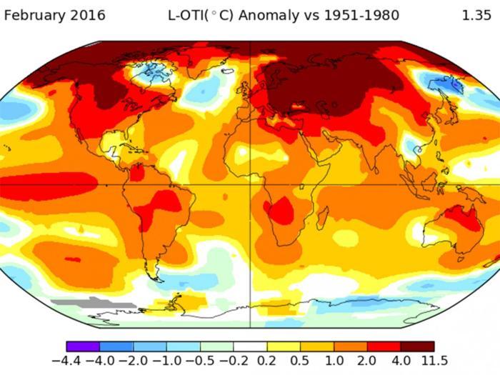 February-temperatures