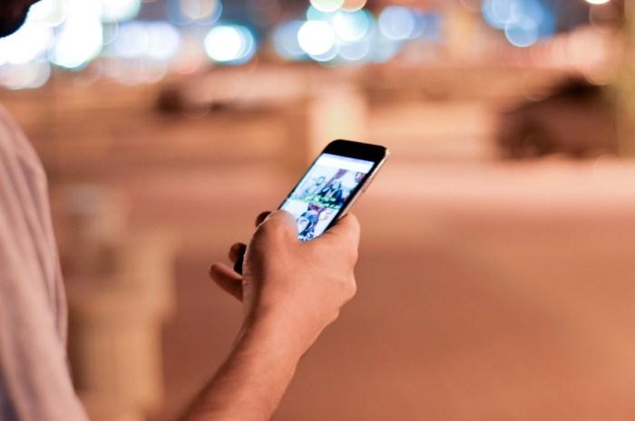 uso smartphone calle