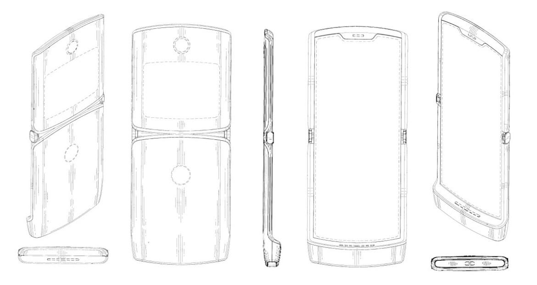 Motorola Razr Foldable Display Patent