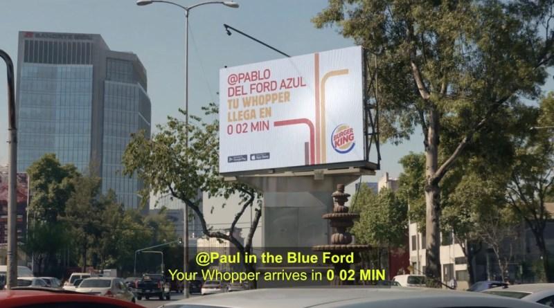 Traffic Jam Whopper Burger King 3