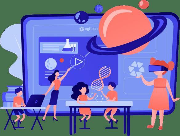 VR classroom