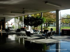 IIT Perlstein Entrance Hall-1945 by Mies van der Rohe