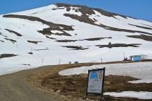 Carretera de grava a Seydisfjordur