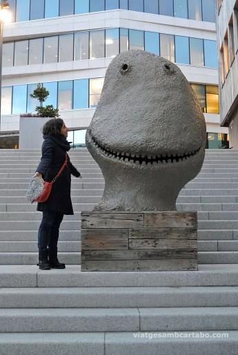Fent amics a Oslo: Oi que té cara de simpàtic?