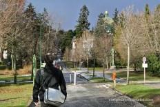 Caminant cap a la Kirche Am Steinhof
