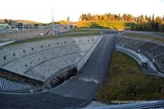 L'espectacular estadi del Holmenkollen ski jump