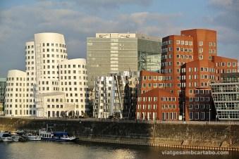 El Mediahafen de Frank Gehry