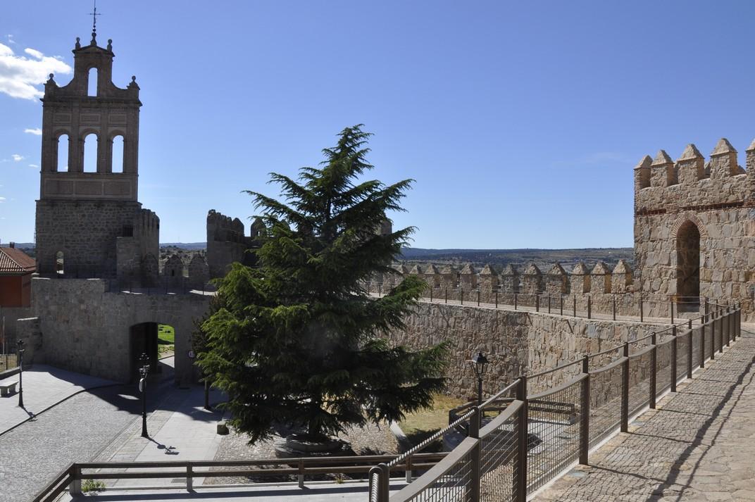 Porta del Carmen - Plaça Concepción Arenal - Muralles d'Àvila