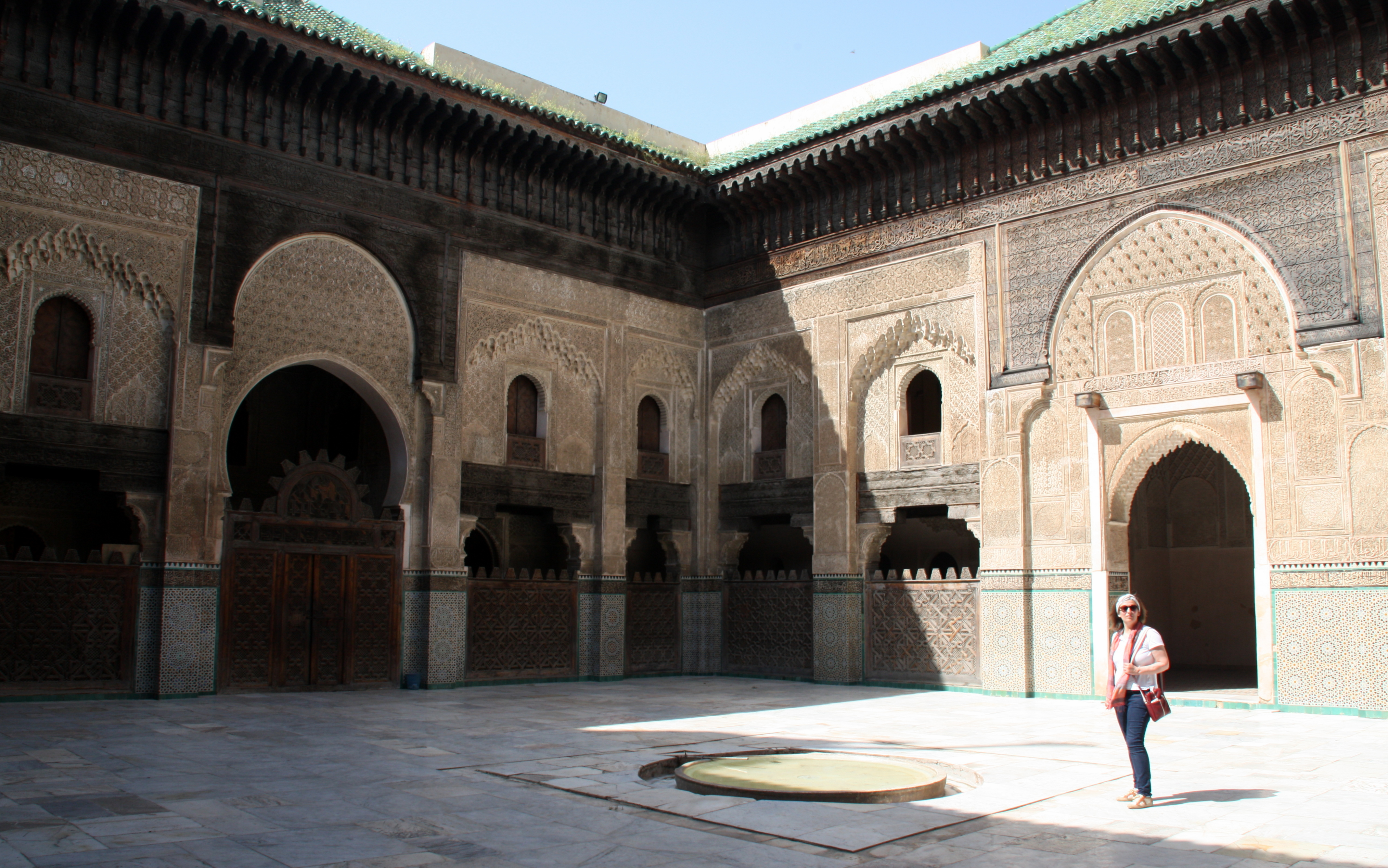 2016-05-24 (Eli a madrassa Bou Inania)