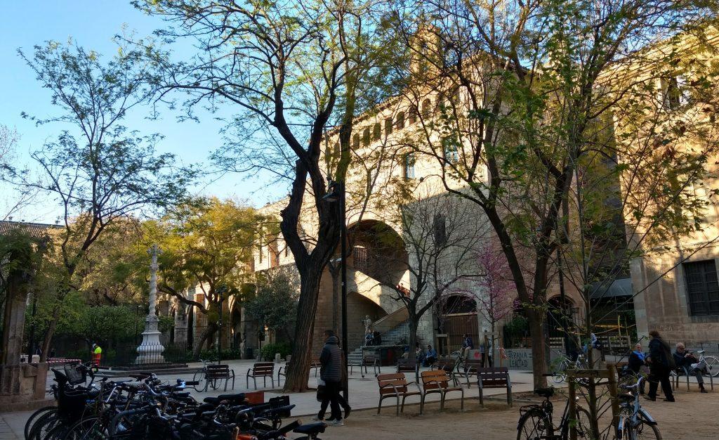 Pati Antic Hospital de la Santa Creu i Sant Pau