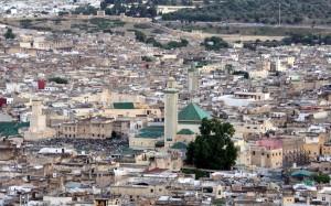 2016-05-22 (vista de mesquita Karaouiyne)