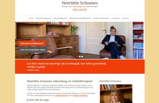 Henriëtte Schoones Seksuoloog homepagina
