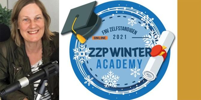 FNV ZZP Winter Academy 2021 en podcaster Ivonne Smit