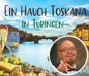 Stocherkahn Weinseminar ein hauch toskana Tuebingen