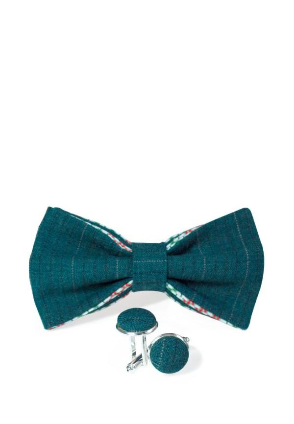 галстук-бабочка с запонками, идея подарка мужчине, интересный подарок мужчине