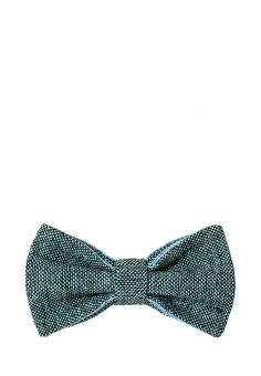 галстук-бабочка серый
