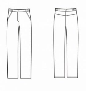 Брюки женские, пошив брюк, пошив женской одежды