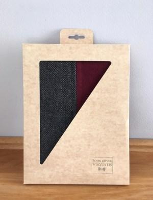 Обложка для книги и ежедневника из твида ViaVestis