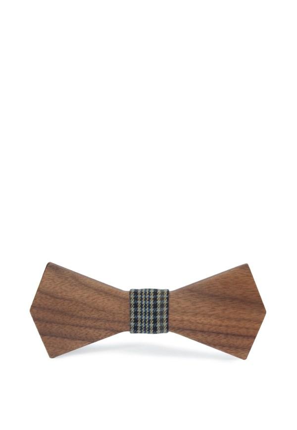 Галстук-бабочка деревянный