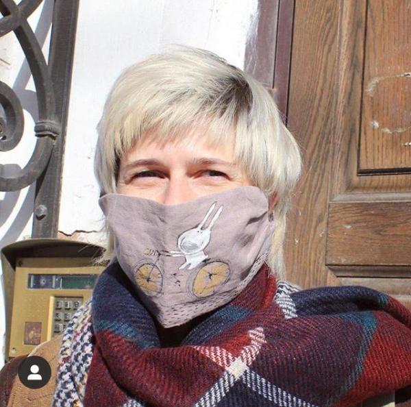 маски защитные с принтом немедецинские