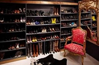 Jane Aldridge shoe closet