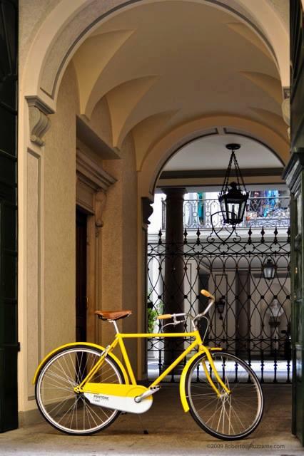 Pantone bikes_yellow