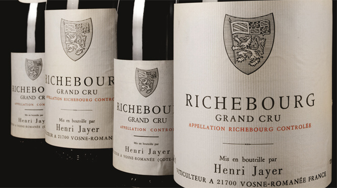 Richebourg Grand Cru - Henri Jayer