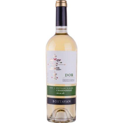 DOR Fetească Albă & Chardonnay - Weißwein Cuvée von Bostavan