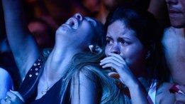 Plateia no show do John Mayer
