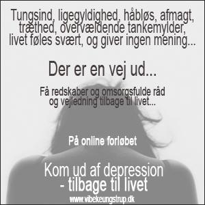 Hvad er en depression? - er der en udvej? | Vibeke Ungstrup, Terapeut og Mentor, Hillerød, Helsinge, Nordsjælland