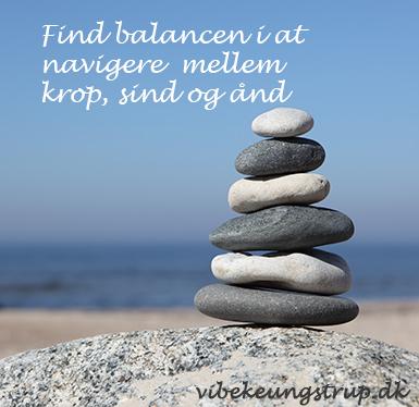 Krop, sind og ånd – find balancen