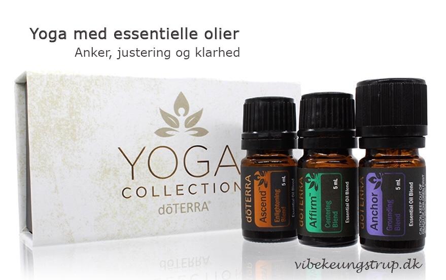 Yoga med essentielle olier