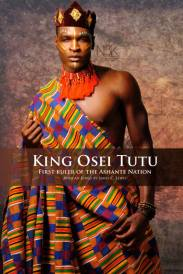 AFRICAN KINGS SERIES | King or Asantehene (King of all Asante) Osei Tutu (circa 1650-1717) Osei Tutu was the founder and first ruler of the Asante nation, a great West African kingdom now known as Ghana. He tripled the geographic size of Asante and the kingdom was a significant power that endured for two centuries. Model: Kellen Marcus | Photographer & Stylist: James C. Lewis | Wardrobe & Accessories: Maye For Maryse Fashions and Accessories *All rights reserved*