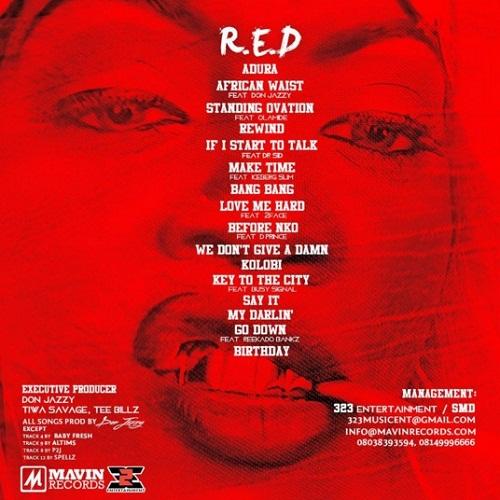 Tiwa-red back
