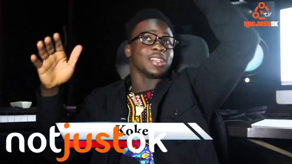 Koker Talks Success of 'Do Something' + Signing to Chocolate City on Notjustok TV