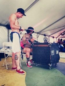 Activities tent Coachella Campground