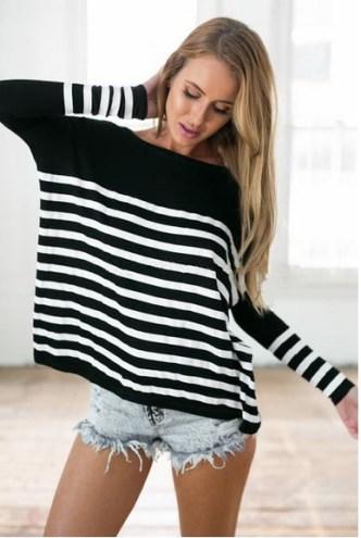 hot-women-s-loose-tops-women-black-and-white-stripe-long-sleeve-shirt-casual-blouse-shirt