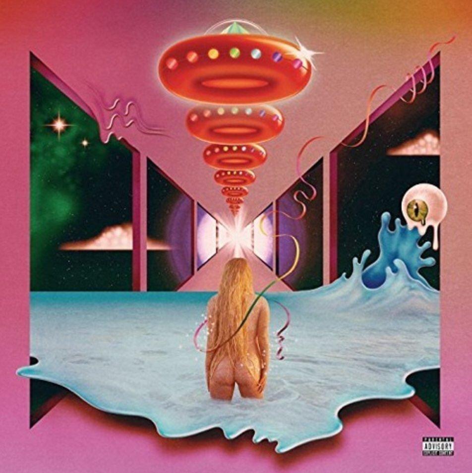 Rainbow Kesha Album Cover Praying