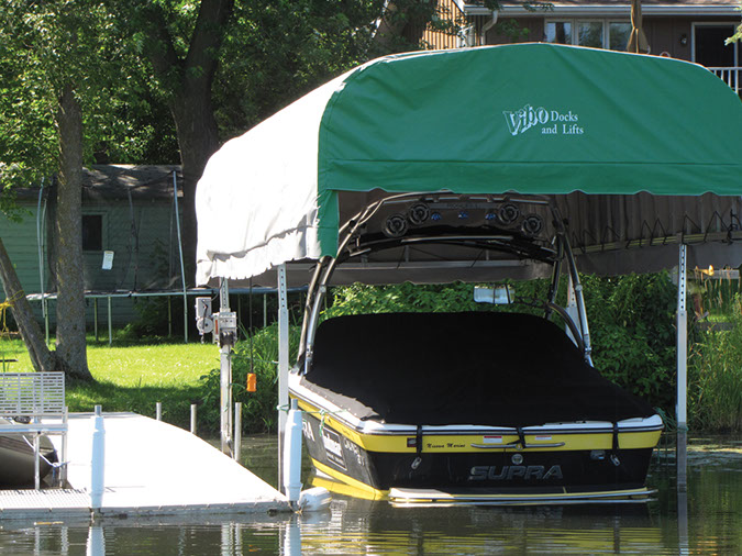 Vibo Marine Docks Lifts Accessories Canopy1