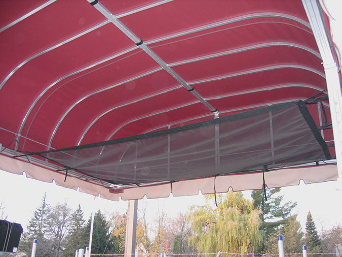 Vibo Marine Docks Lifts Accessories Canopy2Net