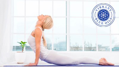 yoga with logo