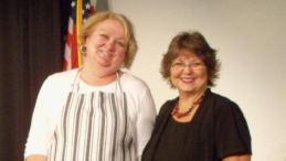 AVC Lead Administrative Volunteers Brenda Lipomi and Rose Bird