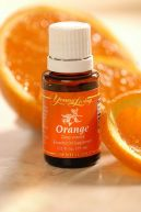 The Orange essential oil from Young Living.