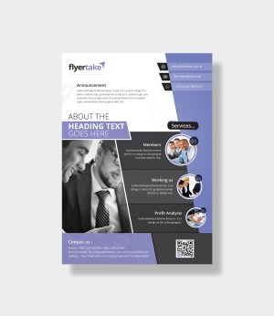Aeolus Stylish Corporate Flyer Template