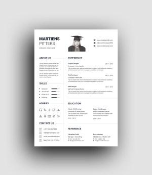 Minimalist Professional Resume Template